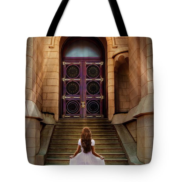I'm Going There Some Day Tote Bag by Greg Collins