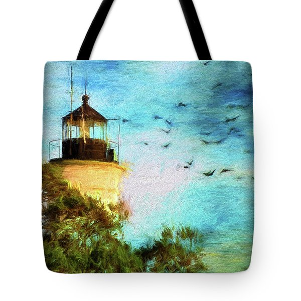 Tote Bag featuring the photograph I'm Here To Watch You Soar II by Jan Amiss Photography
