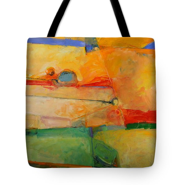 Tote Bag featuring the painting I'm In Corn  by Cliff Spohn