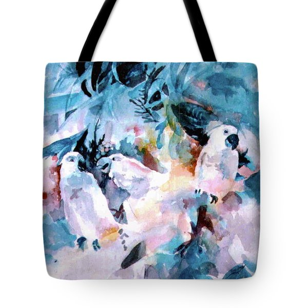 I'm Just Sayin Tote Bag