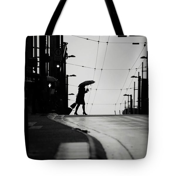 Tote Bag featuring the photograph Im Leaving But Never  by Empty Wall