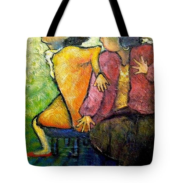 I'm Leaving Now Tote Bag