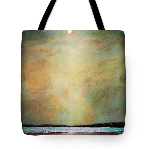 I'm Never Alone Tote Bag by Toni Grote