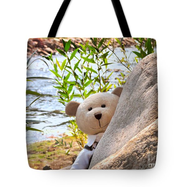 I'm Not Lost...because I Found You Tote Bag
