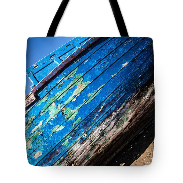Tote Bag featuring the photograph I'm Not Washed Up Just Yet by Jez C Self