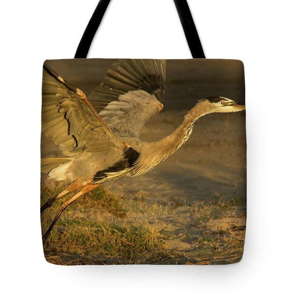 I'm Out Of Here Wildlife Art By Kaylyn Franks Tote Bag