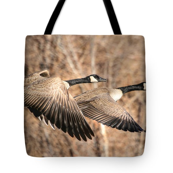 I'm Right Behind Ya Tote Bag by Donna Kennedy