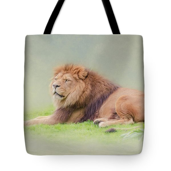 I'm The King Tote Bag by Roy McPeak