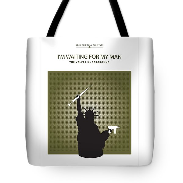 I'm Waiting For My Man -- The Velvet Underground Tote Bag