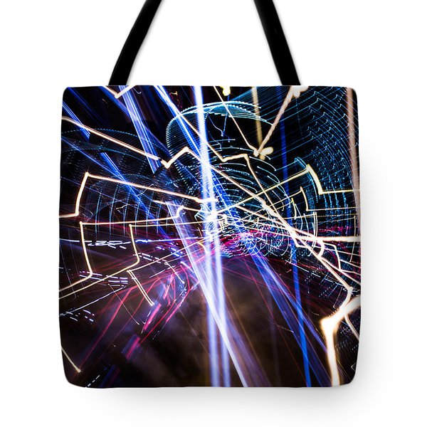 Image Burn Tote Bag
