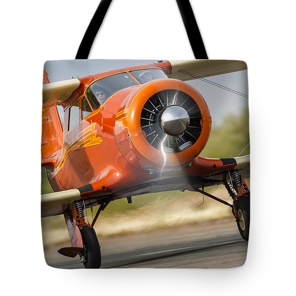 Image Of Staggerwing Proportions Tote Bag