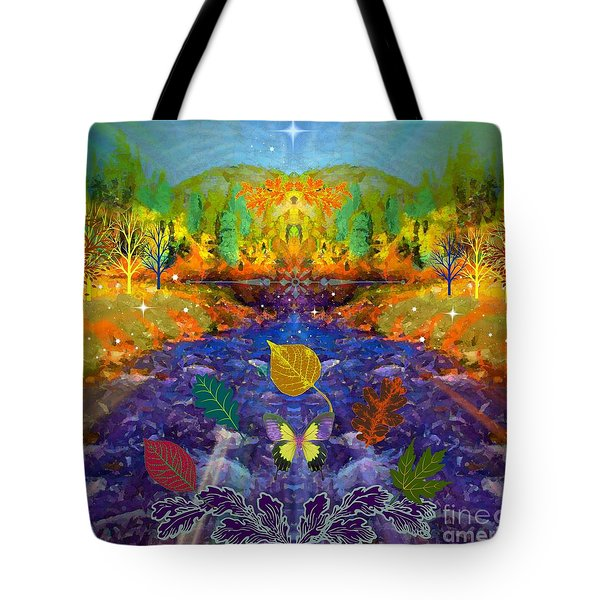 Imaginary Place Tote Bag by Annie Gibbons