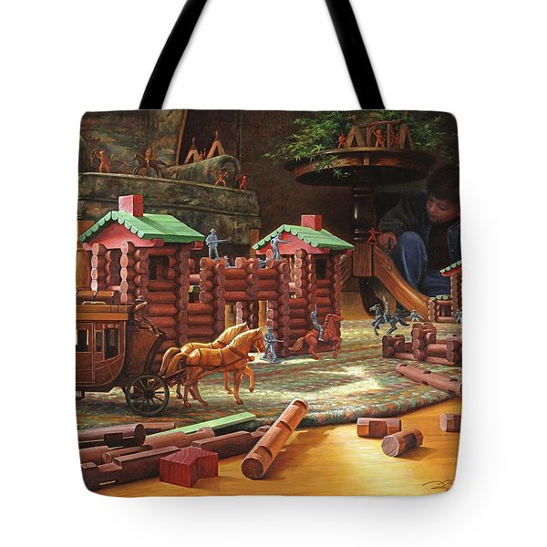 Imagination Final Frontier Tote Bag