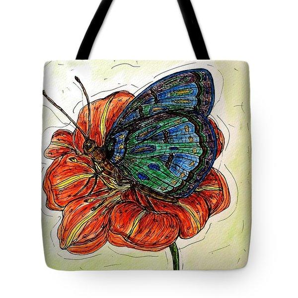 Imagine Butterflies A Tote Bag