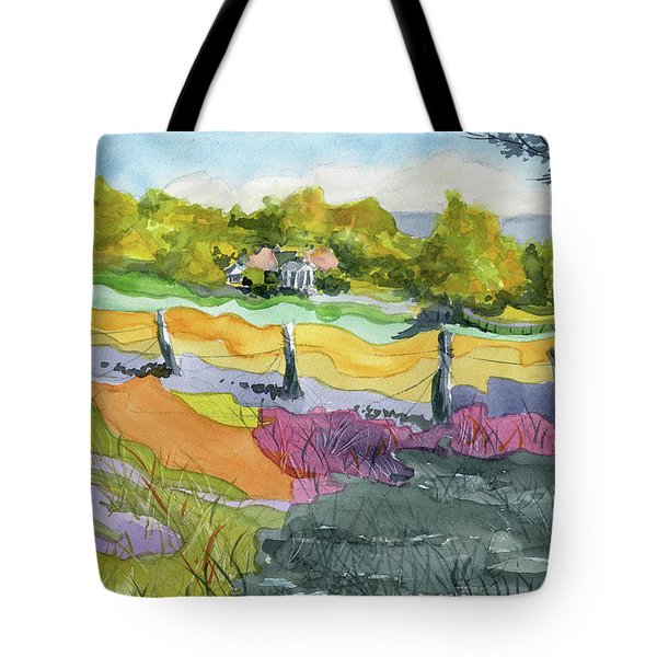 Imagine The Colors Tote Bag
