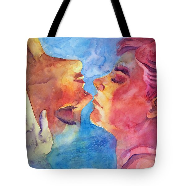 Imaicab Baciami Tote Bag by Alessandro Andreuccetti