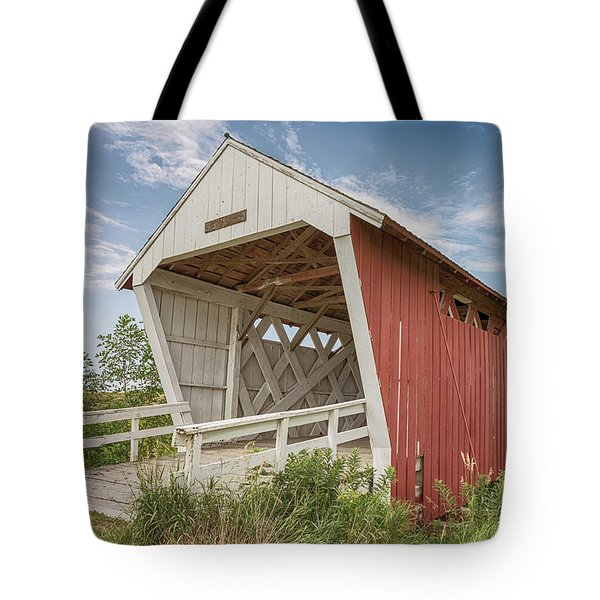 Imes Covered Bridge Tote Bag