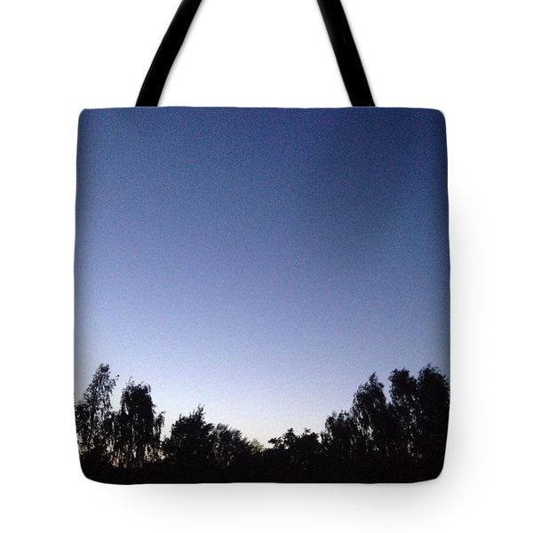 Evening 2 Tote Bag