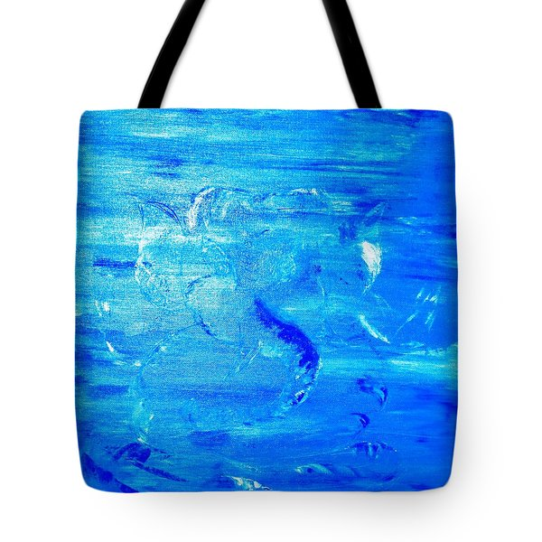 Tote Bag featuring the painting Immersion by Piety Dsilva