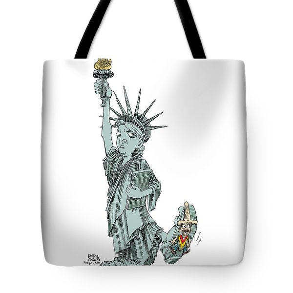 Immigration And Liberty Tote Bag