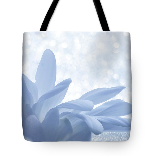 Tote Bag featuring the digital art Immobility - Wh01t2c2 by Variance Collections