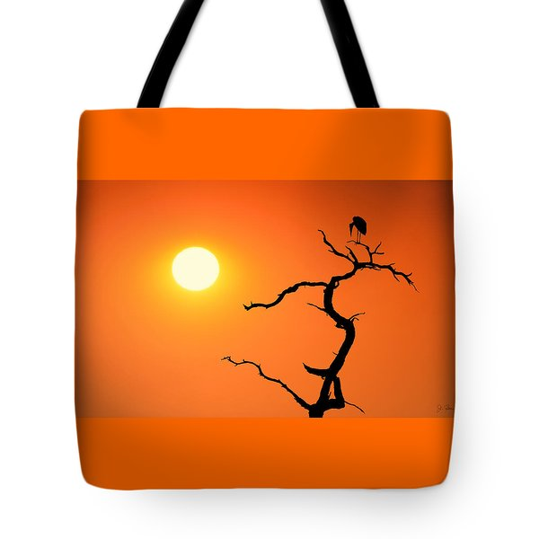 Impalila Island Sunset No. 2 Tote Bag by Joe Bonita