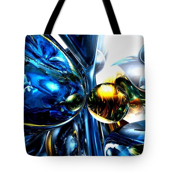 Impassioned Abstract Tote Bag by Alexander Butler