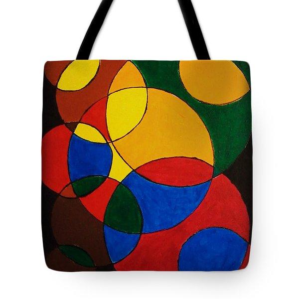Imperfect Circles Tote Bag