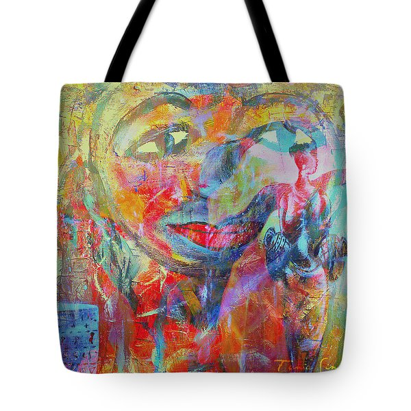 Imperfect Me Too Tote Bag