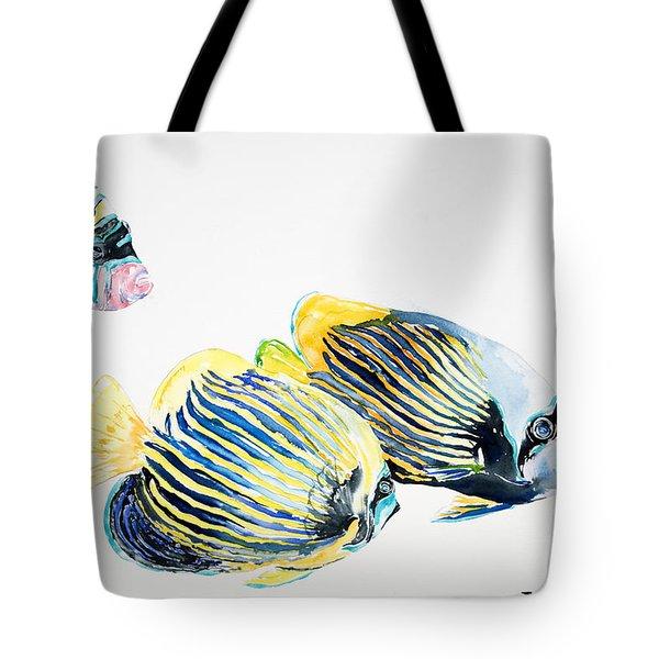 Imperial Angels Tote Bag by Tanya L Haynes - Printscapes
