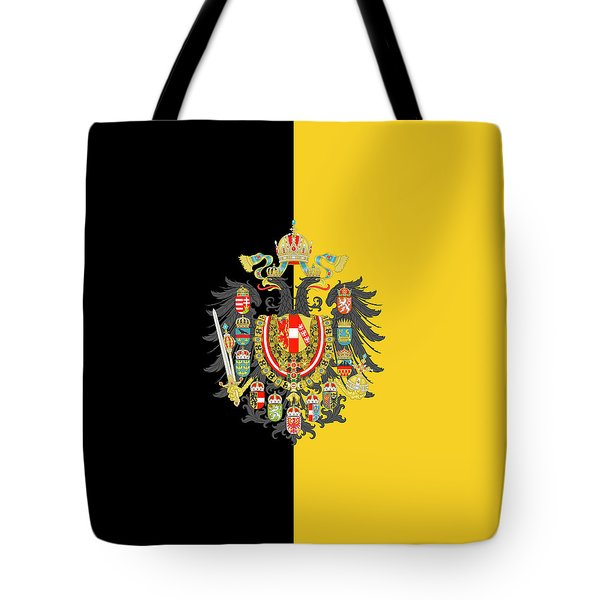 Habsburg Flag With Imperial Coat Of Arms 2 Tote Bag