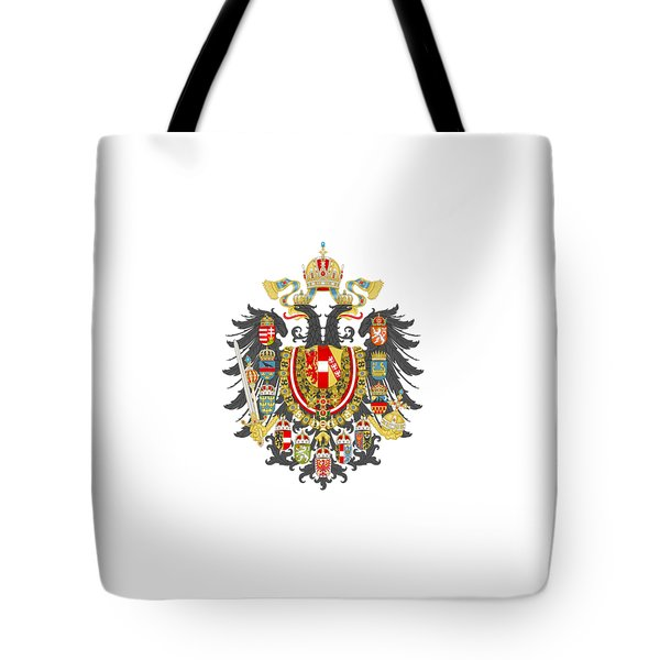 Imperial Coat Of Arms Of The Empire Of Austria-hungary Transparent Tote Bag