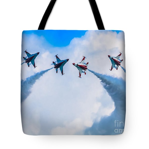 Implode Tote Bag