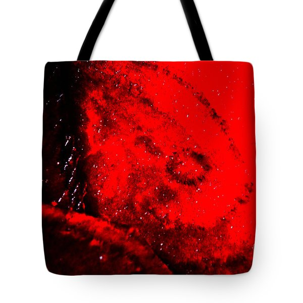 Implosion Tote Bag