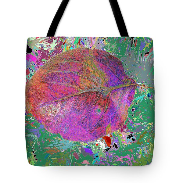 Imposition Of Leaf At The Season 4 Tote Bag