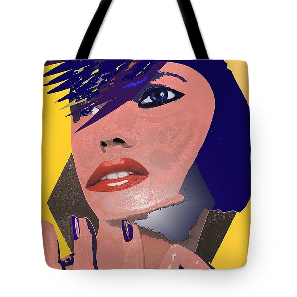 Tote Bag featuring the painting Impossible Dream by Sheila Mcdonald