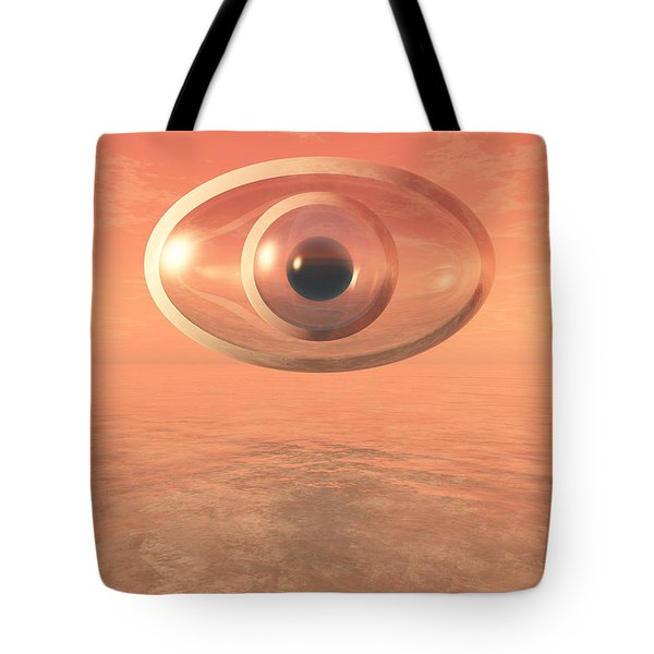 Impossible Eye Tote Bag