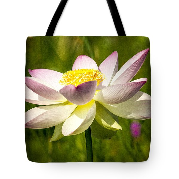Impression Of A Lotus Tote Bag