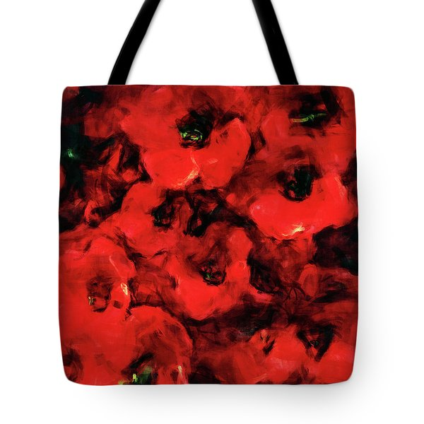 Impression Of Poppies Tote Bag