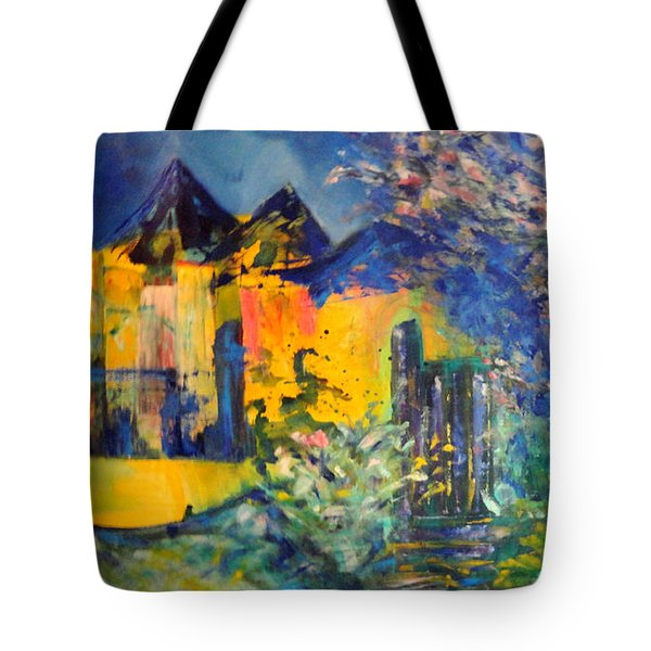 Impression Of Spring Tote Bag