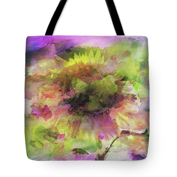 Impression Sunflower Tote Bag