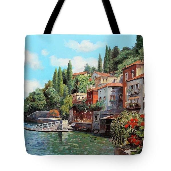Impressioni Del Lago Tote Bag