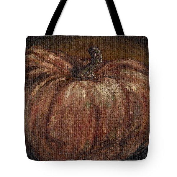 Impressionist Autumn Pumpkin Tote Bag by Adam Zebediah Joseph