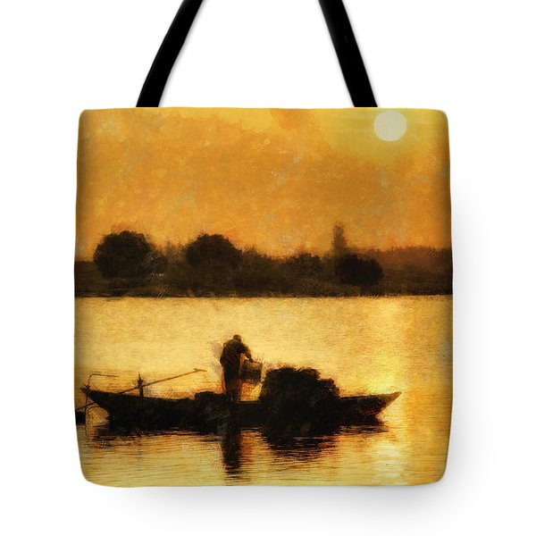 Impressionist Dawn Tote Bag