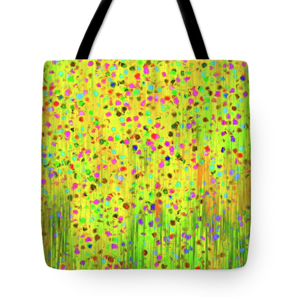 Impressionist Meadow Tote Bag by Silvia Ganora