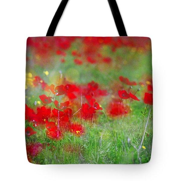 Impressionistic Blossom Near Shderot Tote Bag