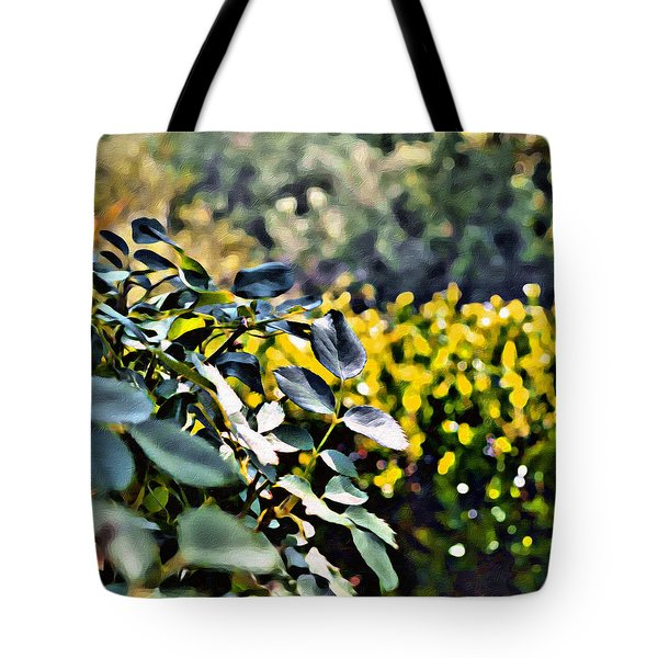 Impressions From A Park - Two Tote Bag