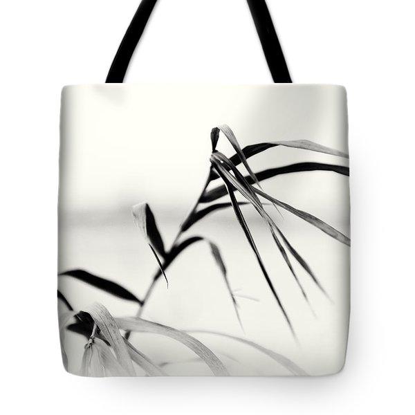Impressions Monochromatic Tote Bag by Tomasz Dziubinski