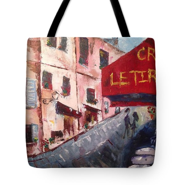 Impressions Of A French Cafe Tote Bag