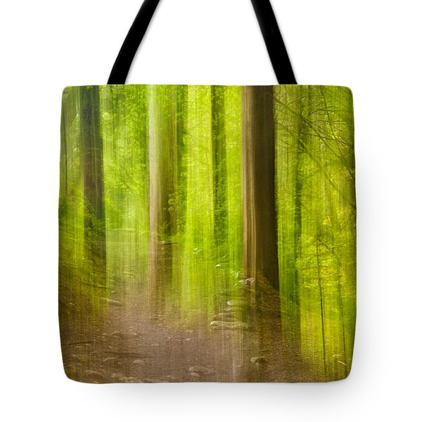 Impressions Of The Forest Tote Bag